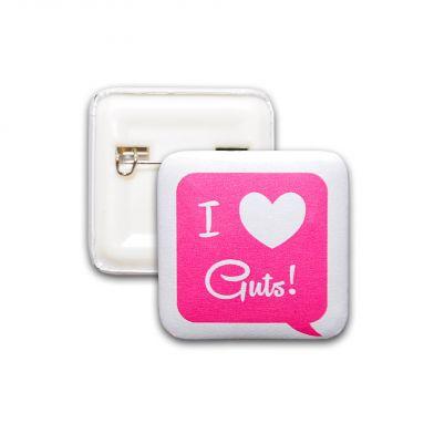 I Love Guts!, vårdpin
