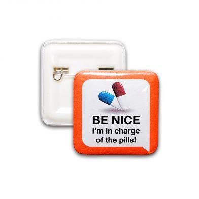 Be Nice, vårdpin