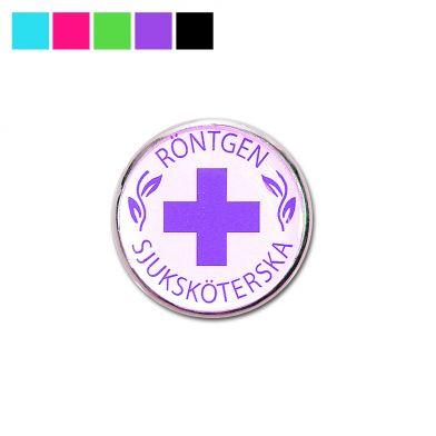 Vårdbrosch, Röntgensjuksköterska