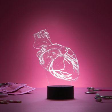 3D Lampa, Heart
