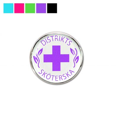 Vårdbrosch, Distriktssköterska