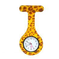 Leopard sjuksköterskeklocka