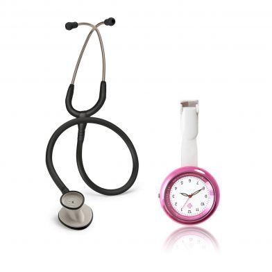 Examenspaket Littmann Stetoskop + Infinity, Rosa