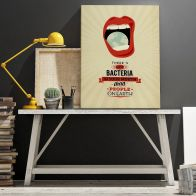 "Poster ""Mouth"" 40x50 cm"