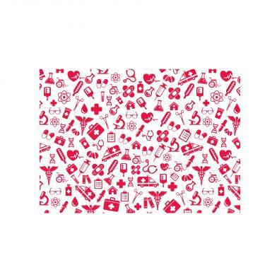 Bordstablett Röd