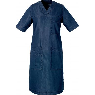 Hejco rymlig klänning, soft denim